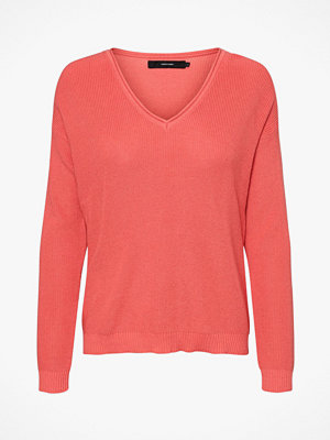 Vero Moda Tröja vmLexa LS V-neck Blouse Color