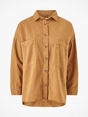 Gina Tricot Skjorta Oversized Denim Shirt