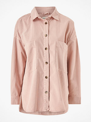 Gina Tricot Skjorta Oversized Denim Shirt