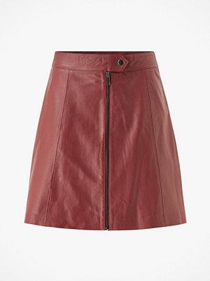Y.a.s Skinnkjol yasSanvi HW Leather Skirt