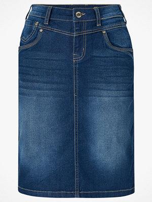 Cream Jeanskjol KammaCR Denim Skirt
