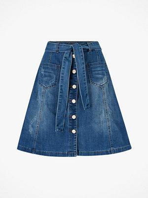 Cream Jeanskjol AlmaCR Denim Skirt