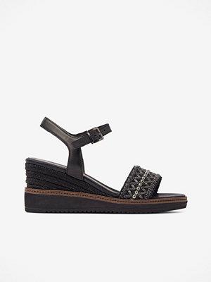 Sandaler & sandaletter - Tamaris Sandalett med kilklack