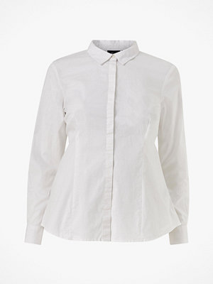 Zizzi Skjorta vLina L/S Office Shirt