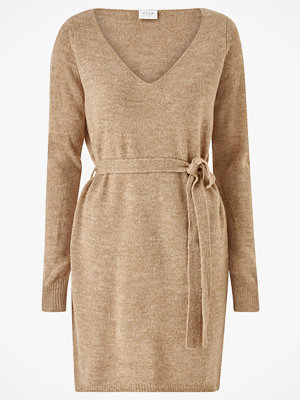 Vila Klänning viSuril L/S V-neck Short Knit Dress