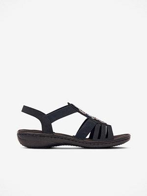 Sandaler & sandaletter - Rieker Sandaler med pärlapplikation