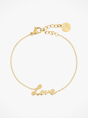 Edblad smycke Armband Love Bracelet Gold