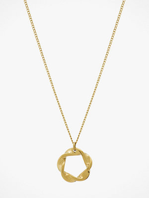 Edblad smycke Halsband Swirl Necklace Small Gold