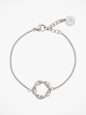 Edblad smycke Armband Swirl Bracelet Steel