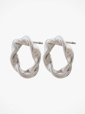 Edblad smycke Örhängen Swirl Studs Steel