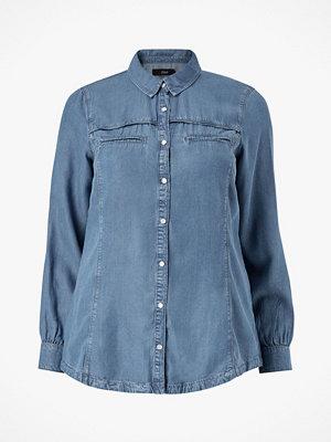 Zizzi Jeansskjorta jAnna LS Shirt
