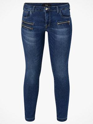 Zizzi Jeans Long Sanna Slim