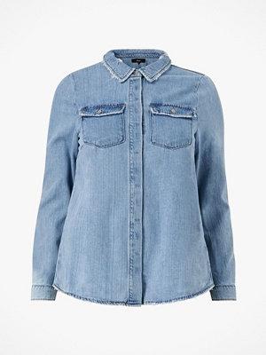 Zizzi Jeansskjorta jJoy L/S Shirt