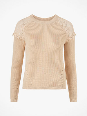 Only Tröja onlElrosa L/S Lace Pullover