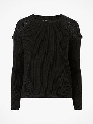 Tröjor - Only Tröja onlElrosa L/S Lace Pullover