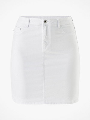 Vero Moda Curve Jeanskjol vmHot Nine HW Pencil Skirt