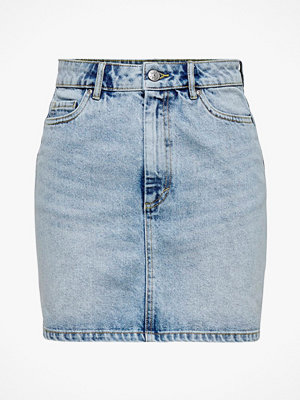 Kjolar - Only Jeanskjol onlRose Life Ashape Skirt BB