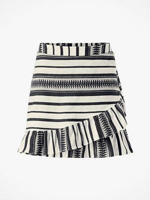 Only Kjol onlSally Athena Wrap Skirt Wvn