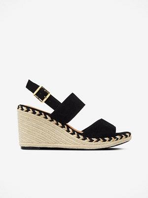 Sandaler & sandaletter - Ellos Sandalett Wedge Gold