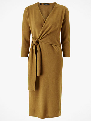 Selected Femme Stickad klänning slfNaya 3/4 Knit Wrap Tie Dress