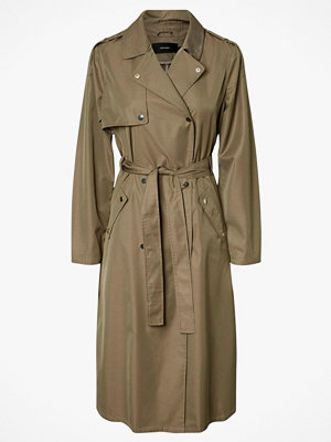 Vero Moda Kappa vmElya Long Trench Coat