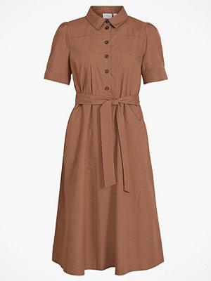 Vila Klänning viNyala Midi S/S Dress