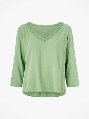 Vila Blus viMoashly Lace 3/4 Top