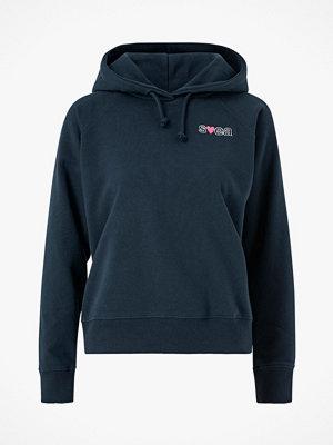 Svea Sweatshirt W. Heart Logo Hood