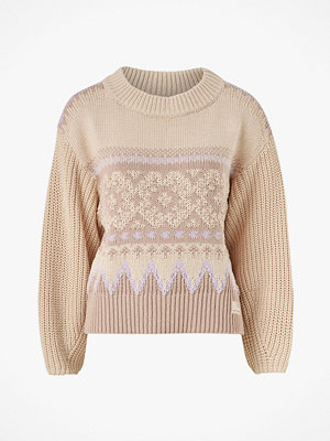 Odd Molly Tröja Magnetic Jacquard Sweater