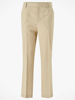 Gina Tricot Byxor Lisa Linen Trousers omönstrade