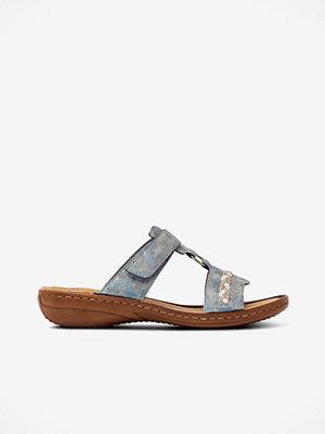 Rieker Sandaler med flätad detalj