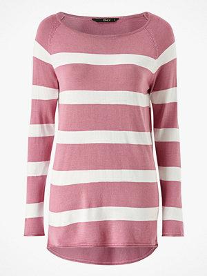 Only Tröja onlSelena L/S Stripe Pullover CC Knt