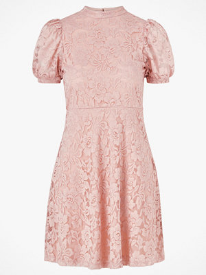 Vila Spetsklänning viLilja S/S Puff Sleeve Lace Dress