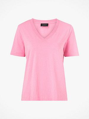 Selected Femme Topp slfStandard SS V-neck Tee Seasonal