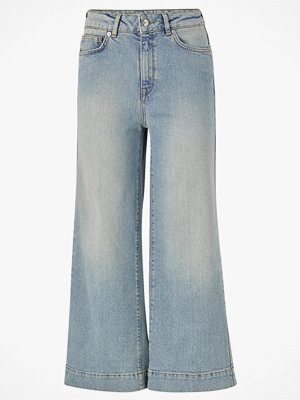 Selected Femme Jeans slfGene HW Wide Crop Bair Blue Jeans