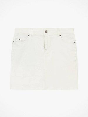 Lexington Jeanskjol Alexa White Denim Skirt