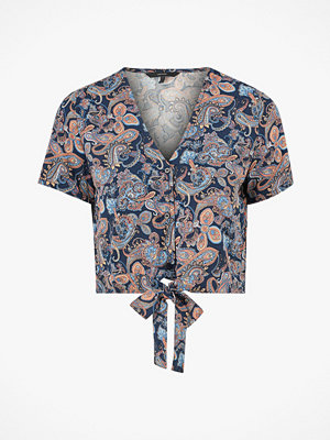 Vero Moda Blus vmSimply Easy S/S Shirt Tie Top Wvn