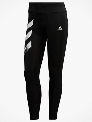 adidas Sport Performance Löpartights Own The Run 3-stripes Fast Tights
