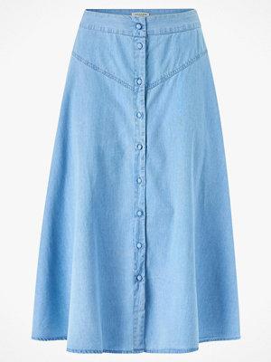 Selected Femme Kjol slfJoy MW Midi Skirt