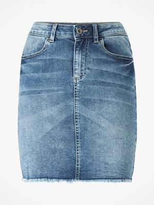 Kjolar - Pieces Jeanskjol pcAia MW DNM Skirt