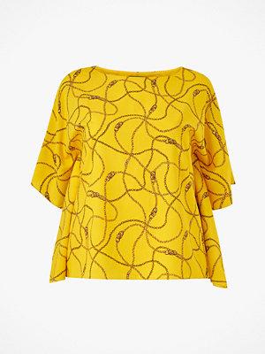 Lauren Ralph Lauren Curve Blus Anielka Short Sleeve Shirt