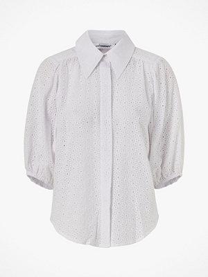 co'couture Blus Briela Anglaise Shirt