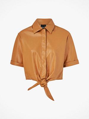 Gina Tricot Skjorta Tea Tie PU Shirt
