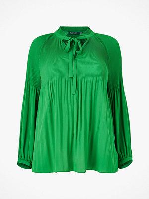 Lauren Ralph Lauren Curve Blus Duong Long Sleeve Shirt