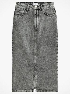 La Redoute Rak, halvlång jeanskjol