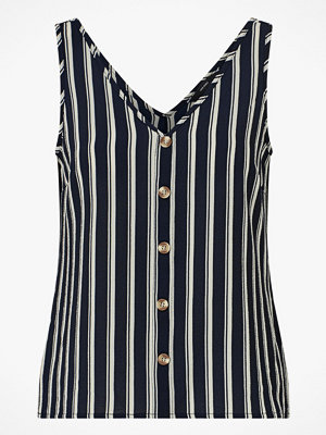 Vero Moda Linne vmSasha SL Button Top
