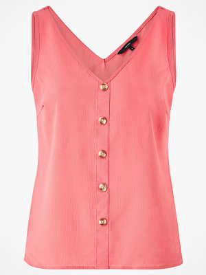 Vero Moda Linne vmSasha SL Button Top Color