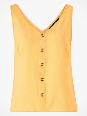 Linnen - Vero Moda Linne vmSasha SL Button Top Color