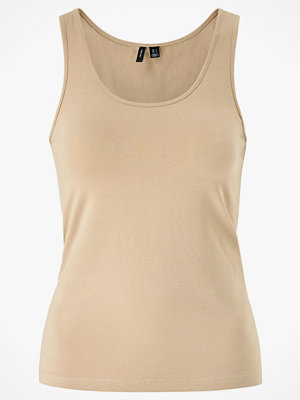 Linnen - Vero Moda Linne vmMaxi My Soft Short Tank Top Ga Color
