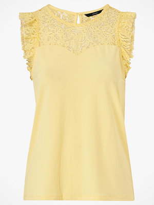 Vero Moda Topp vmAlberta Sweetheart Lace S/L Top Color